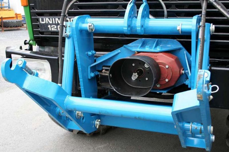 Reversing & Centralising Gearbox for Front Pto