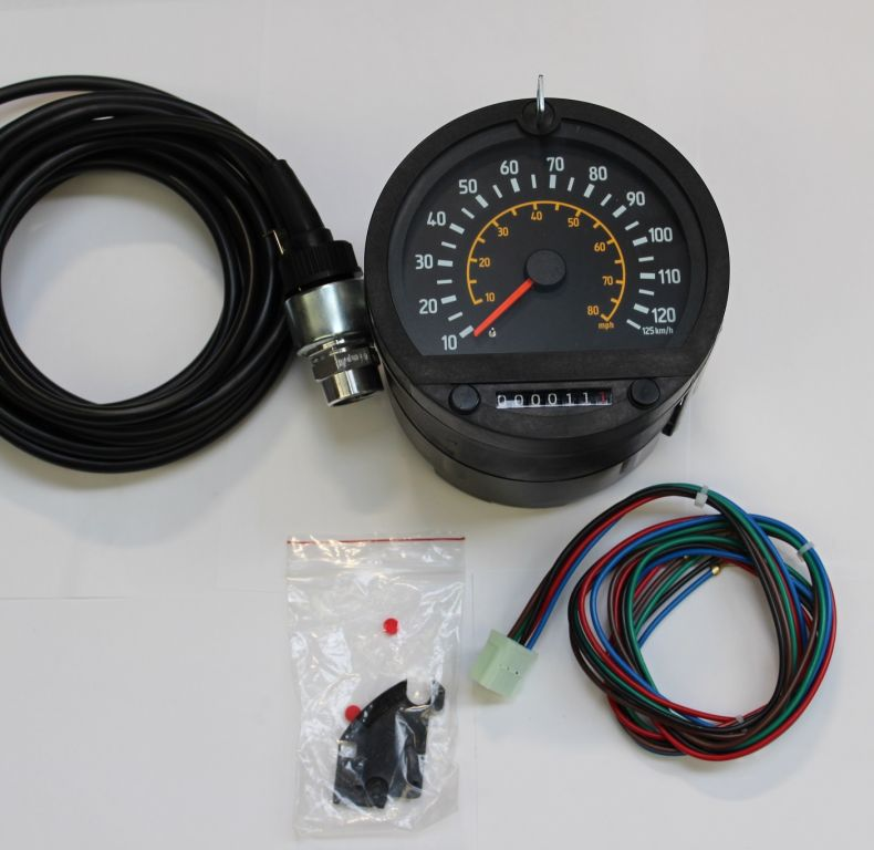 Electronic speedometer upgrade