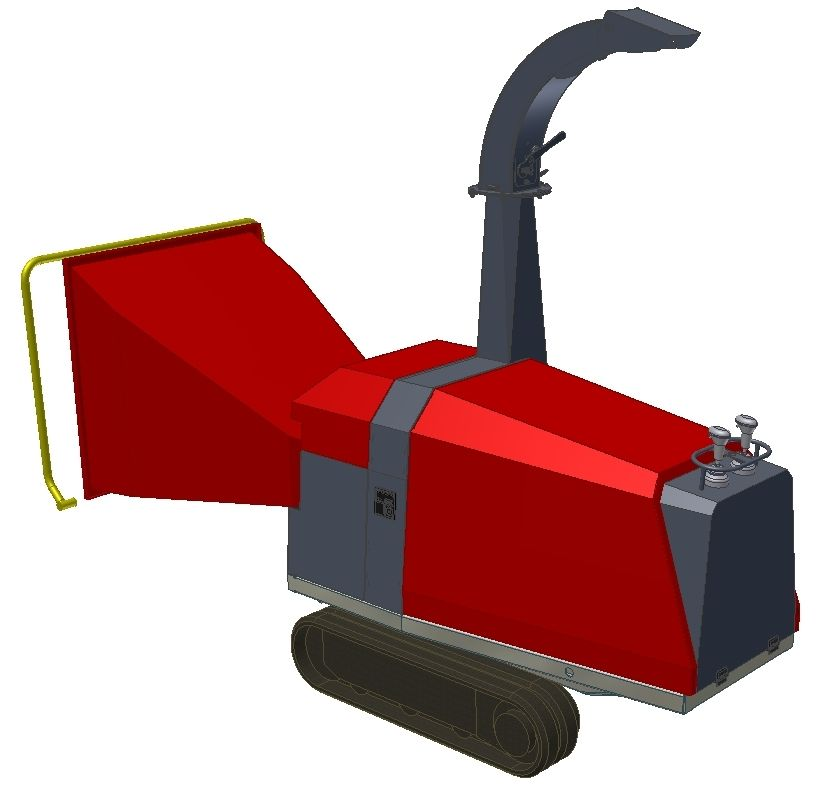 Tp 160 Wood Chipper Update