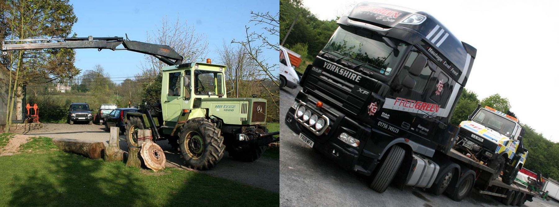 Mb Trac Trade-in for a Unimog U1000