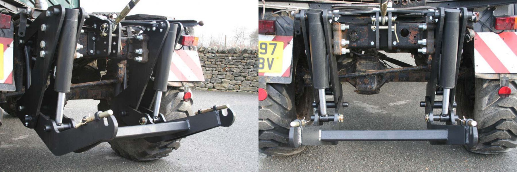 New Heavy Duty Rear Linkage