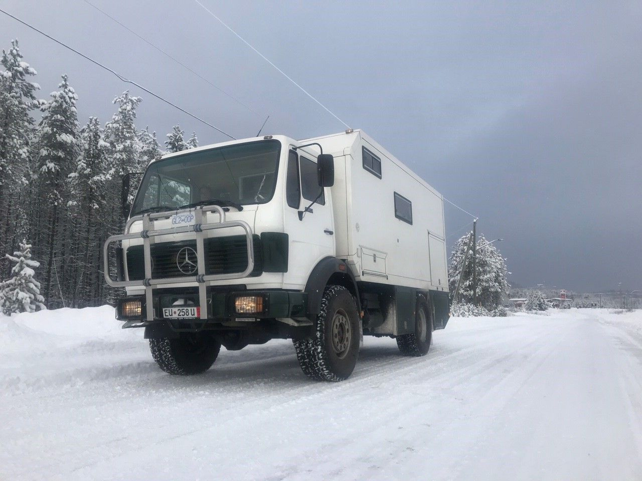 Speed Upgrade for Mercedes 4x4 Truck