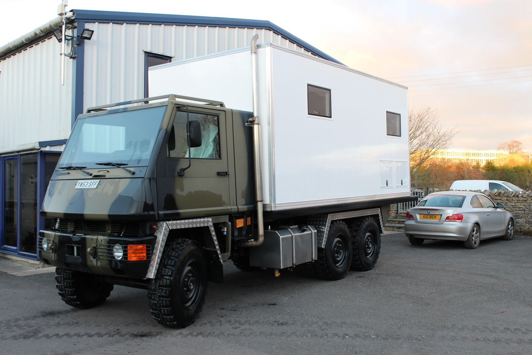 Rory Matheson Mowag Camper