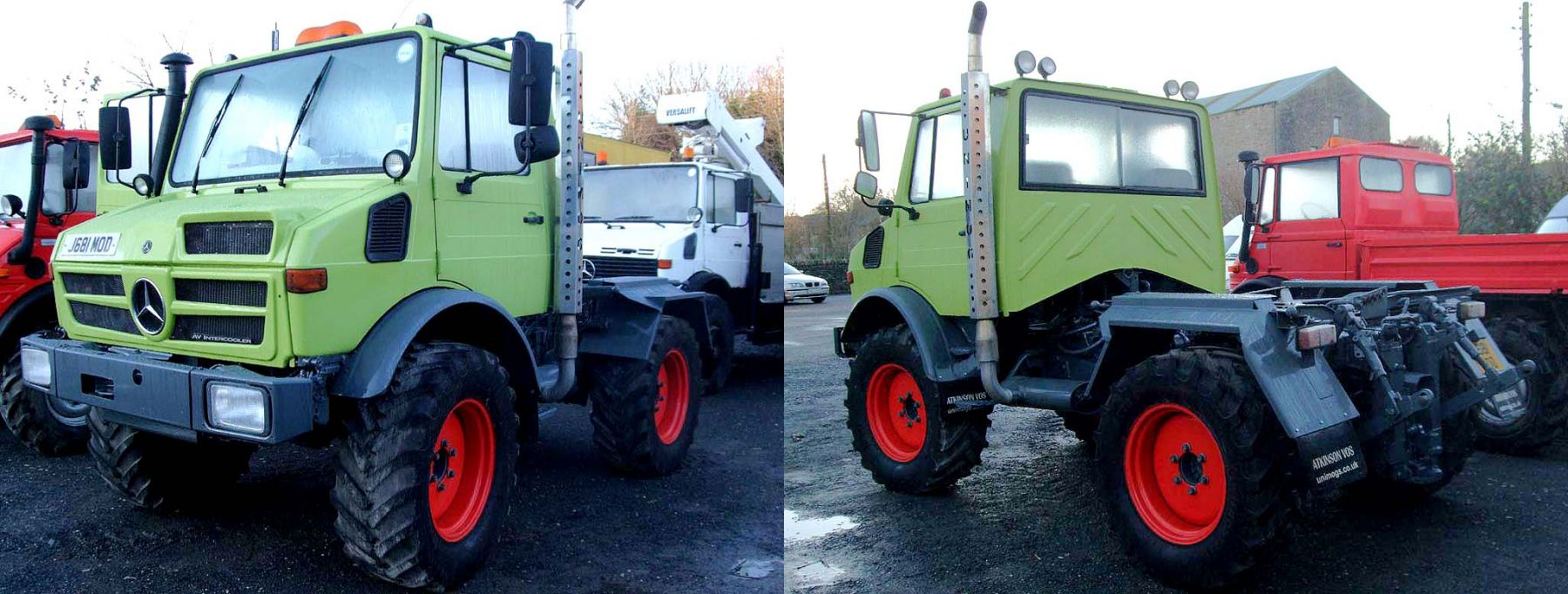It's a Claas Act for This Unimog