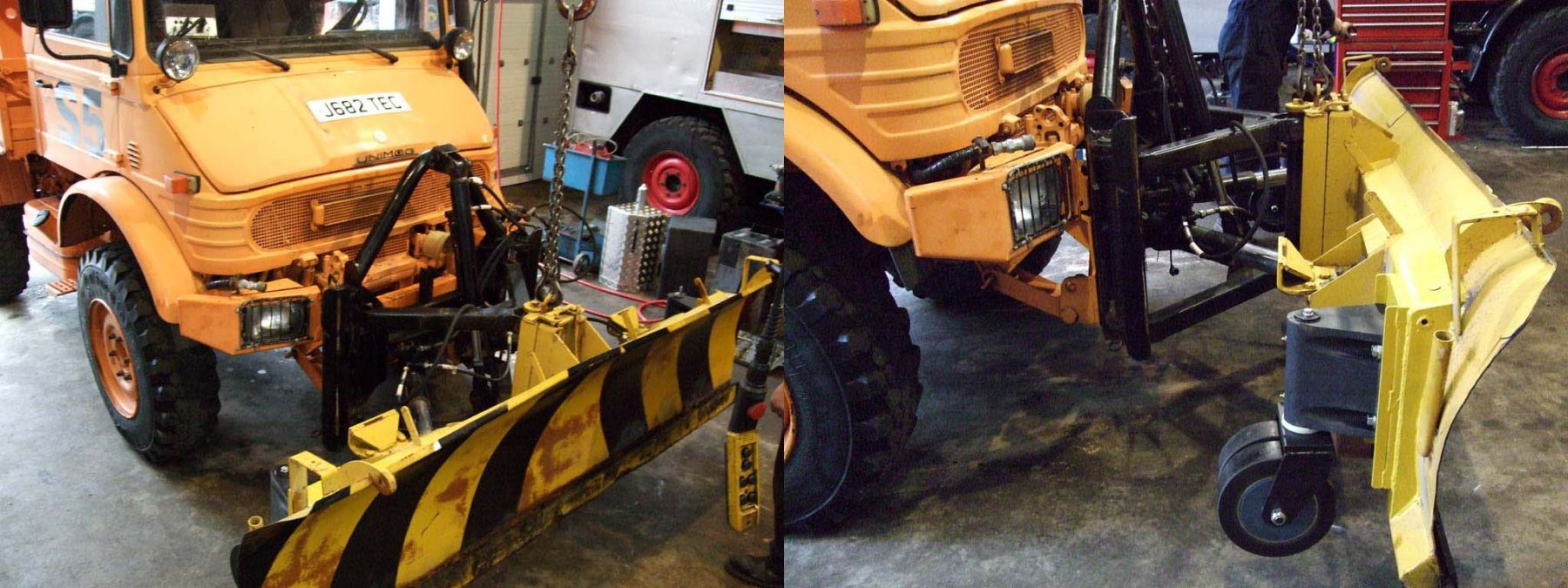 Unimog Implement Modifications