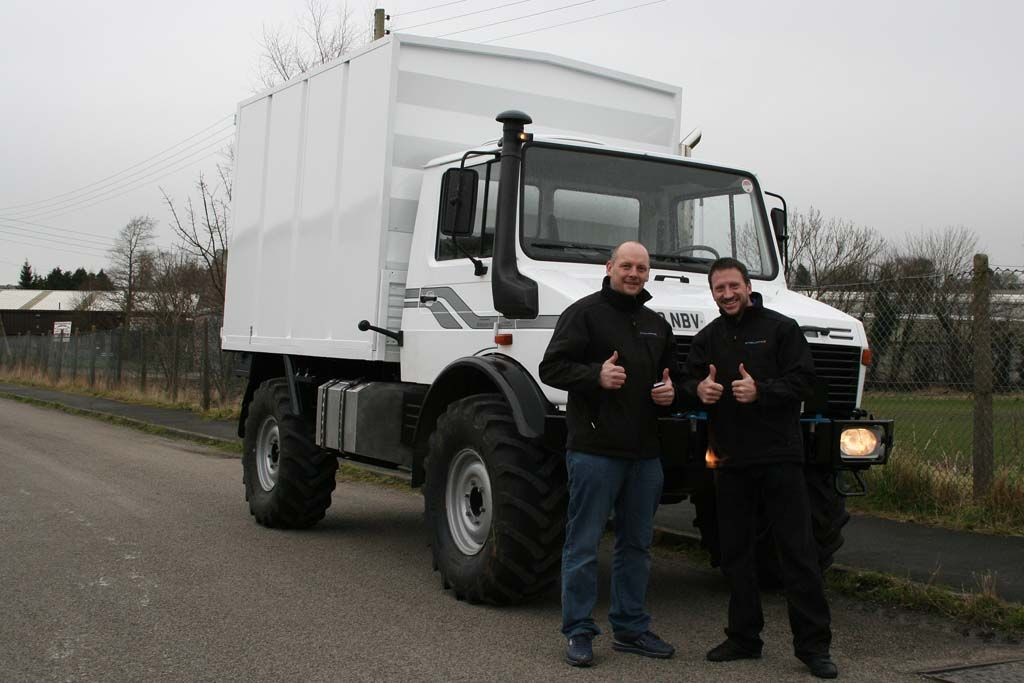 Unimog Survey Vehicle