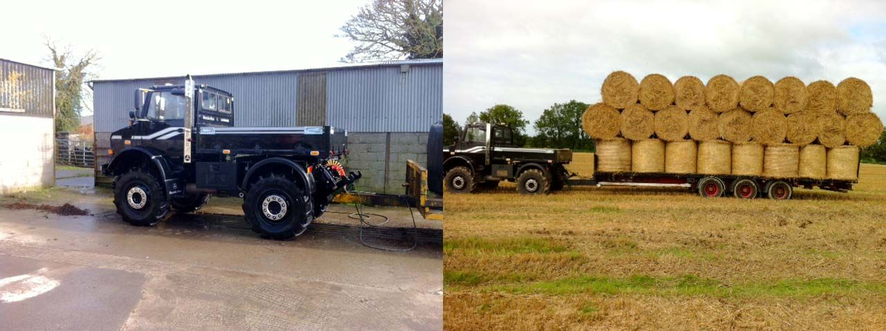 Farming Contractor Keeps This Black Beauty Busy