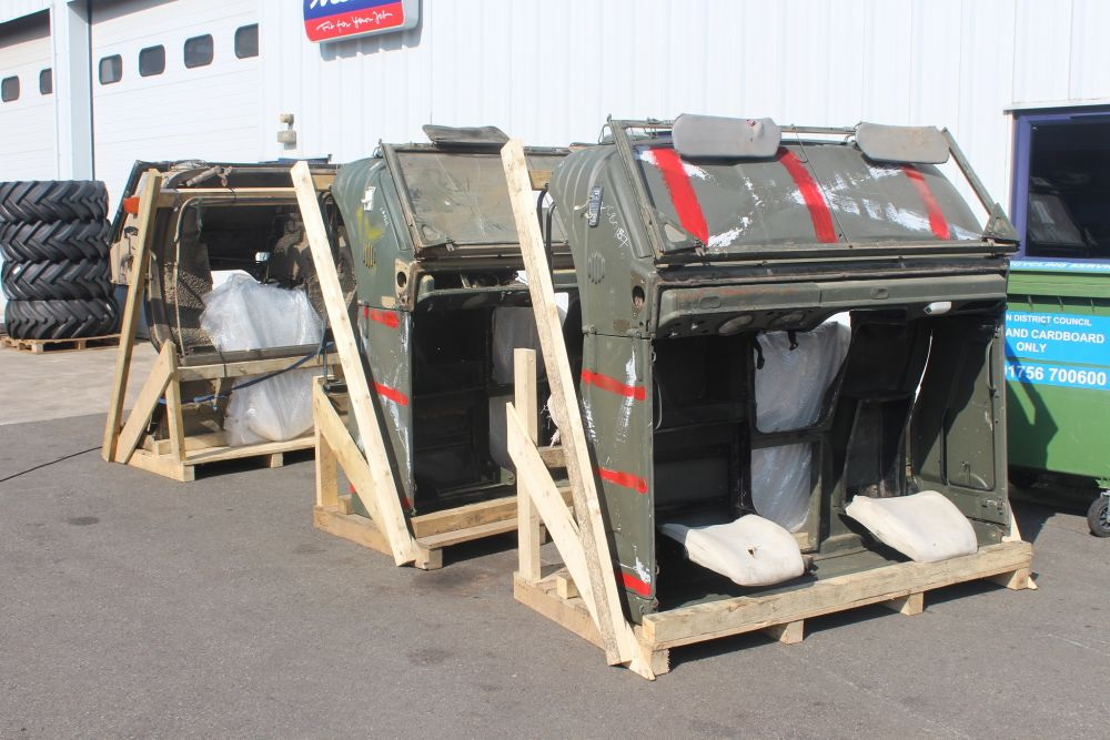 3x 416 cabs ready for shipping to Germany