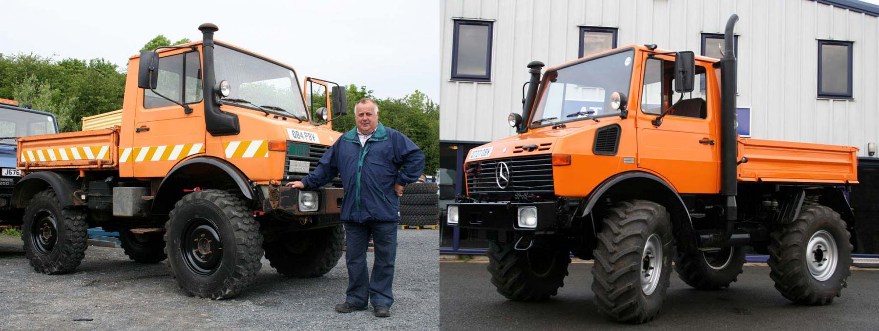Two Unimog U1200s Sold to Family Contracting Compa