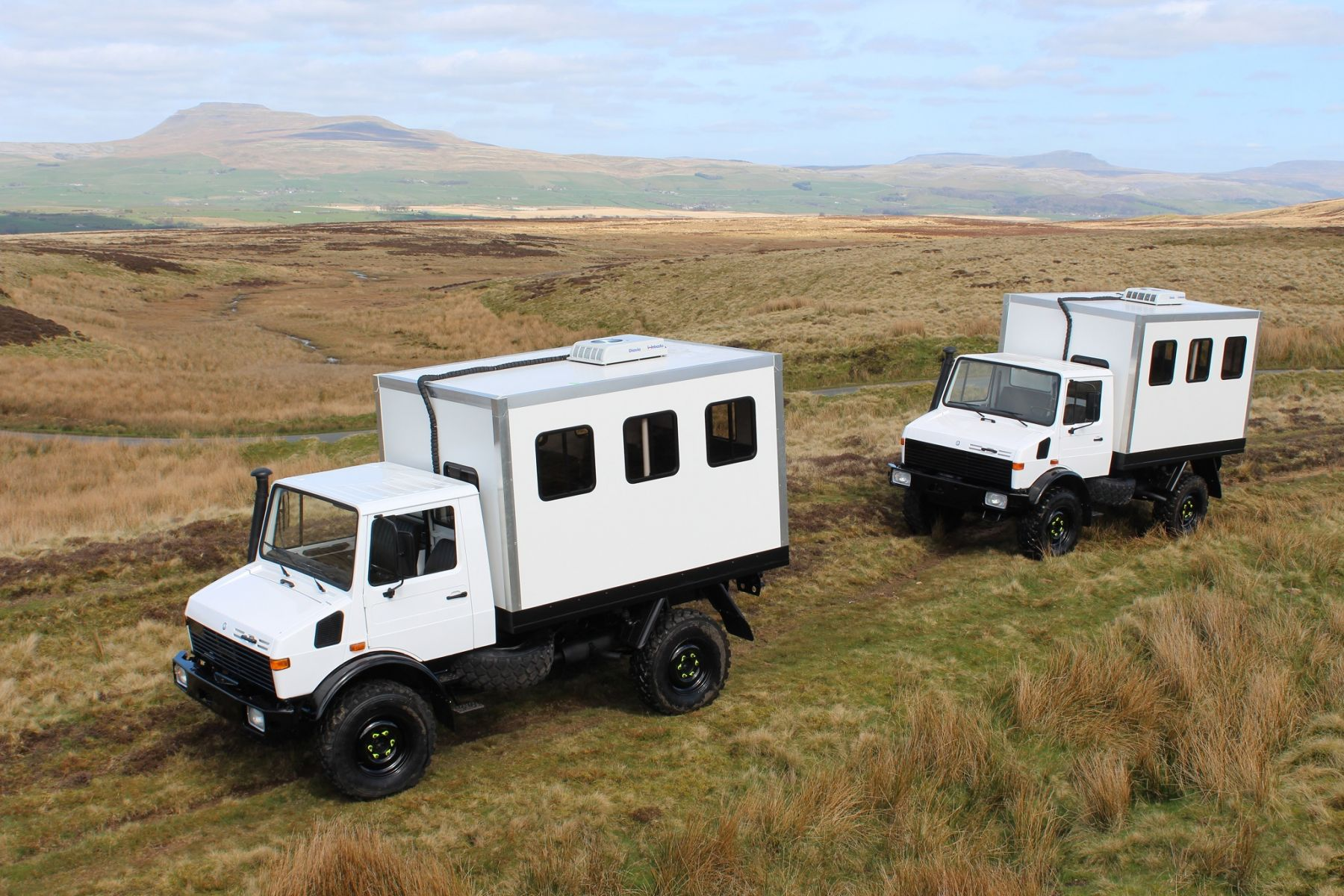 x2 Unimog Personnel Carriers Panama Bound