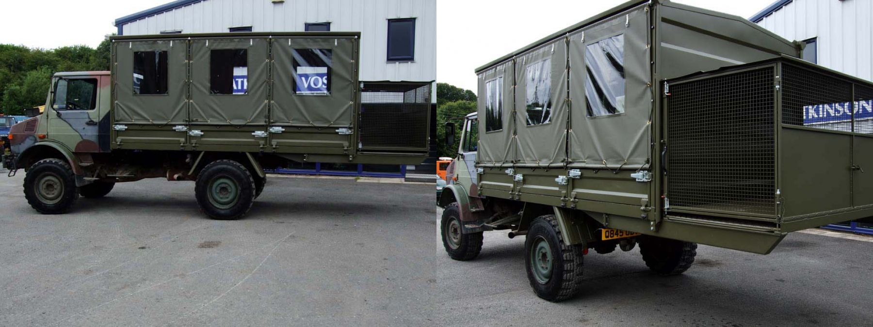 The First of Two - Completed Unimog U1300l Gunbus
