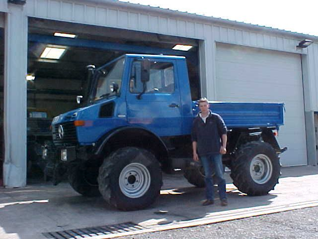 Unimog for Fencing