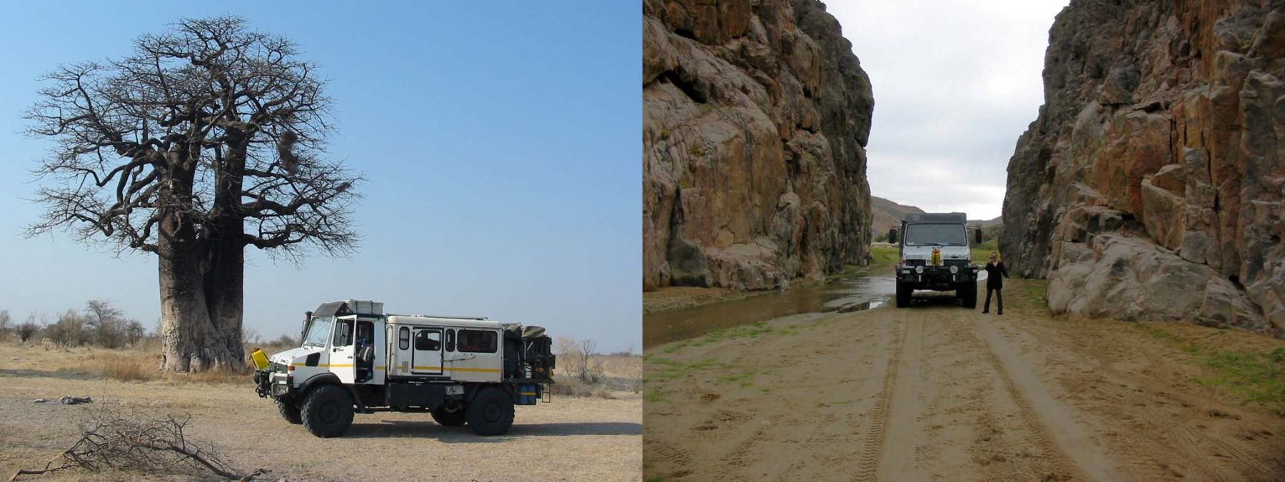 U1550l Camper Trip Through South African Wildernes