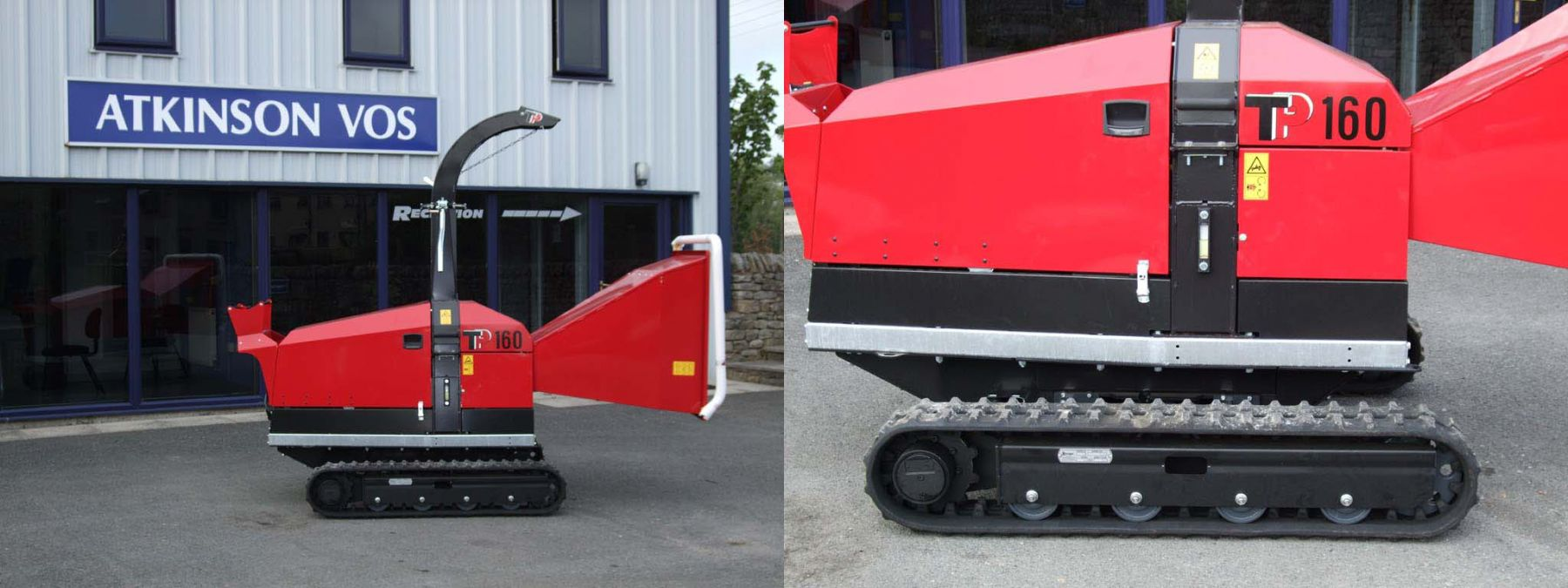 Tp160 Tracked Chipper Has Landed!