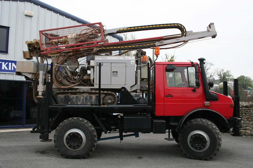 Unimog for Drilling
