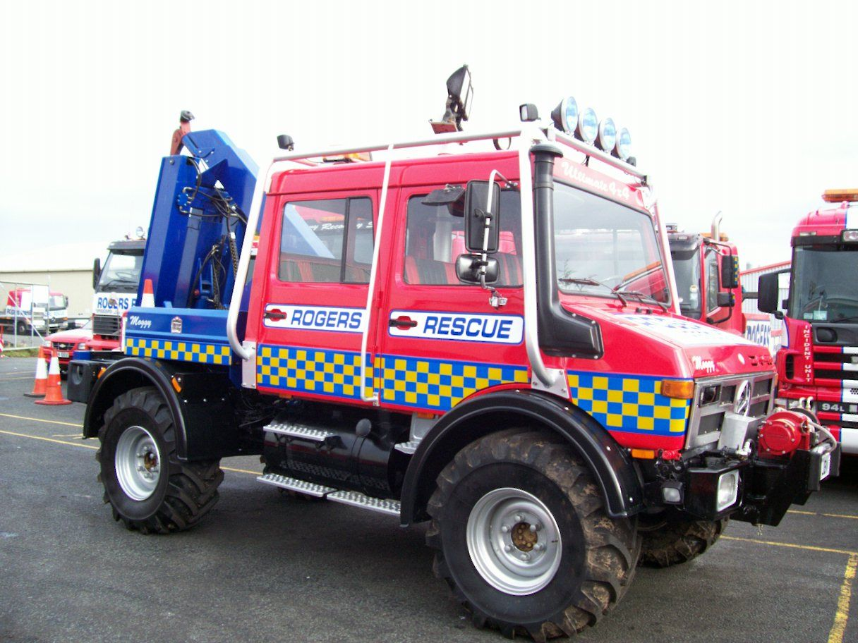 Unimog off Road Recovery Vehicle