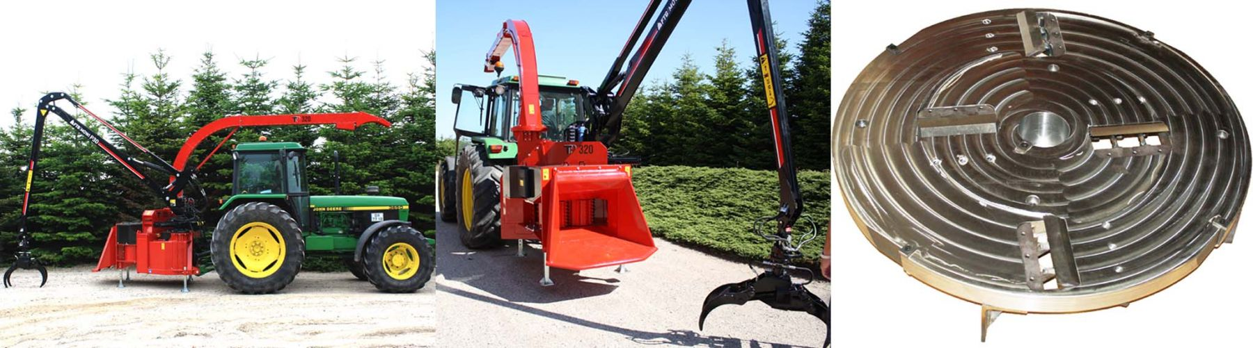 Brand New Tp 320 Big Biomass Chipper Comes on Sale