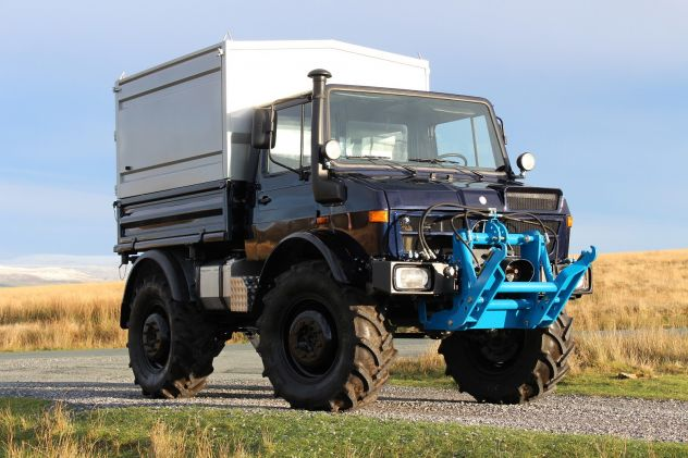 UNIMOG - A MAN'S BEST FRIEND!