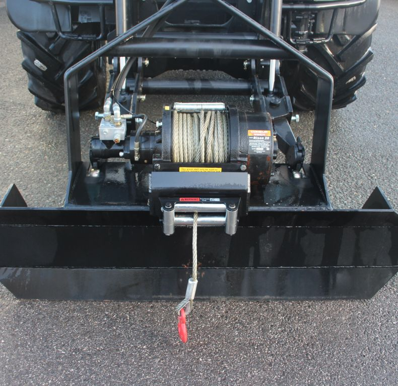 9200KG WINCH & GROUND ANCHOR