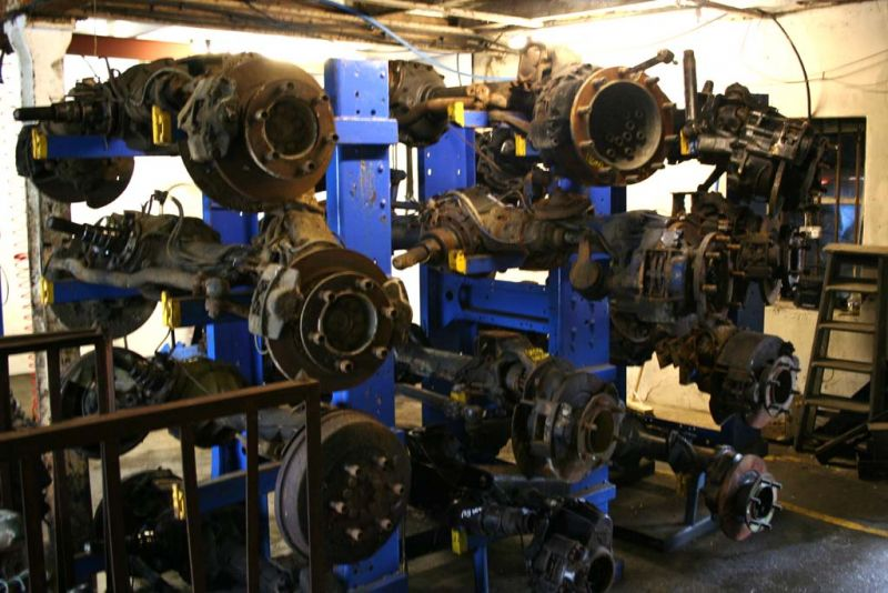 used axles and axle parts