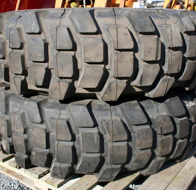 x2 new michelin remould 14.00x20 tyres