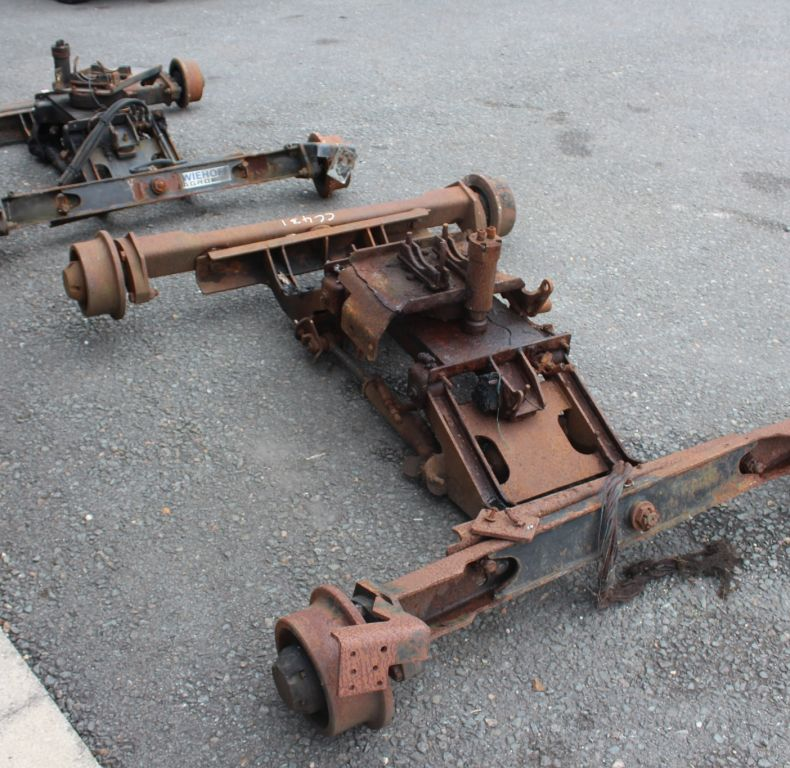 USED ROAD RAIL GEAR ZWEIHOFF ZAGRO