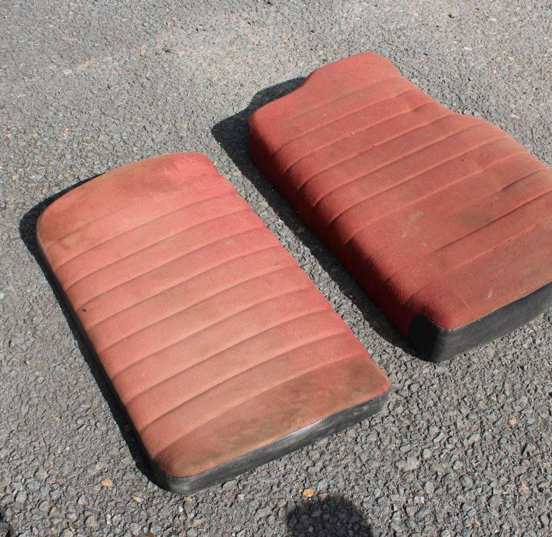 DOUBLE SEAT CUSHIONS